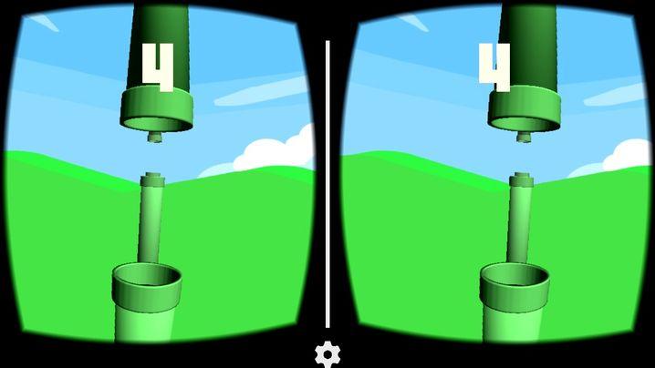 """""""Flappy Bird""""-Remake für VR-Brillen: Cardboard wird unterstützt"""