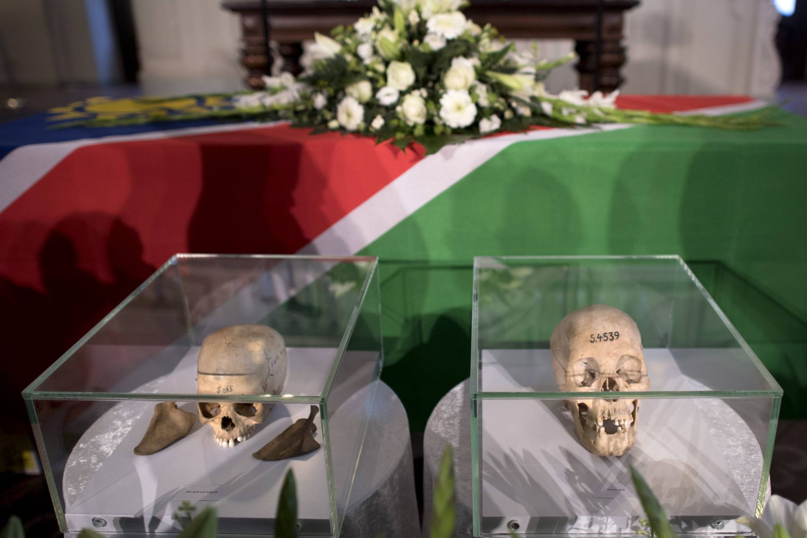 Return of stolen remains of Herero and Nama Berlin DEU Deutschland Germany Berlin 29 08 2018 S