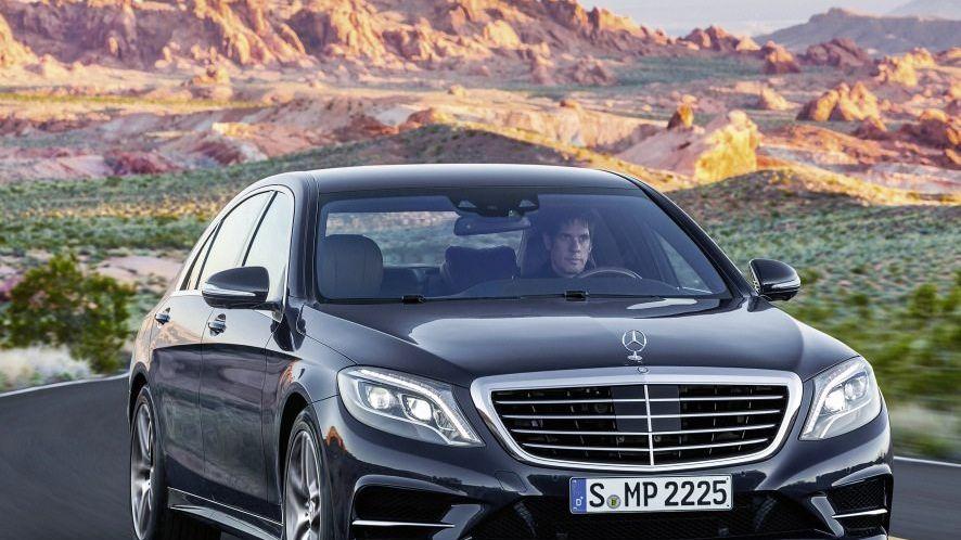 Neuer Mercedes der S-Klasse