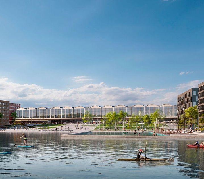 Architektenentwurf für eine Studentenstadt in Budapest: Kredit aus Peking?