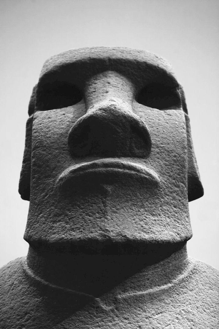 """""""Gestohlener Freund"""": Moai im British Museum"""