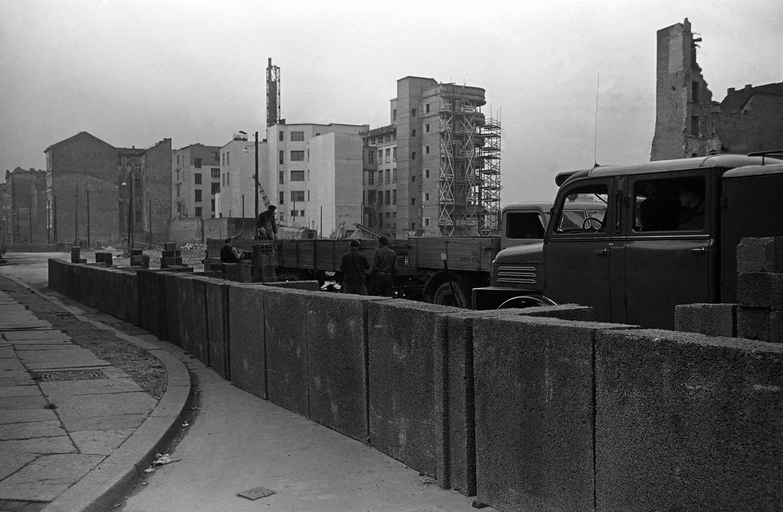 Berlin Abriegelung