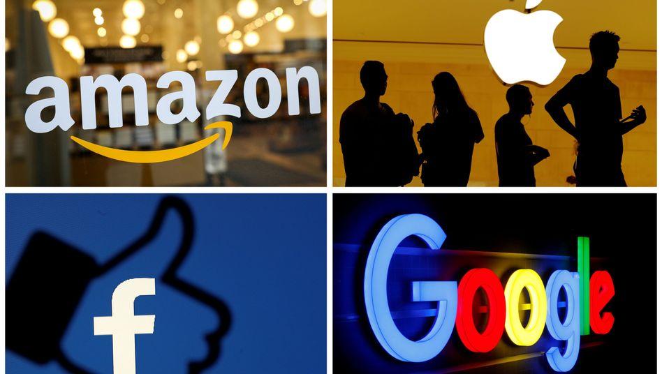 Gesetze gegen GAFA: Google, Apple, Facebook und Amazon