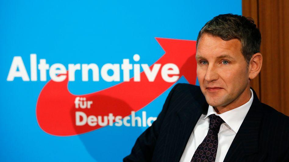 """Thüringer AfD-Fraktionschef Höcke: """"Die Vorwürfe gegen mich sind frei erfunden"""""""