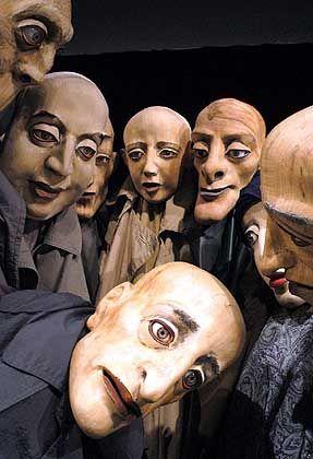 Puppenspieler: Mehr als ein Straßenberuf
