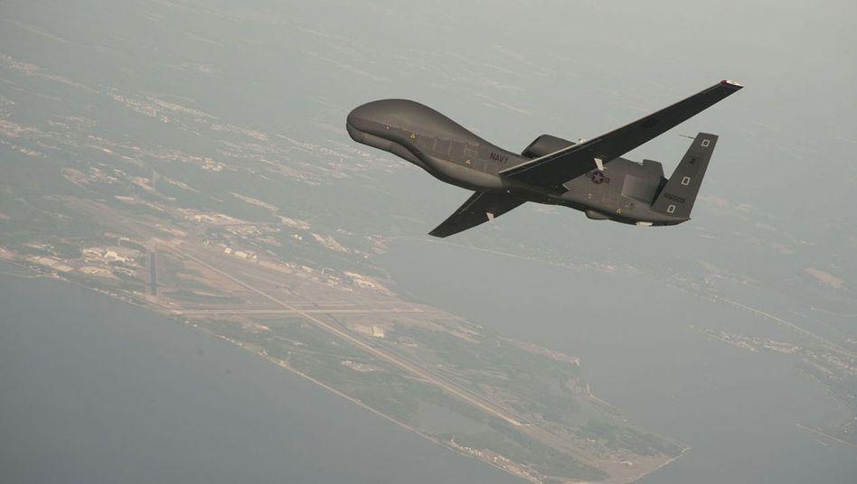 """Drohne vom Typ RQ-4A """"Global Hawk"""": """"Sie wurde abgeschossen, als sie in den iranischen Luftraum eindrang"""""""