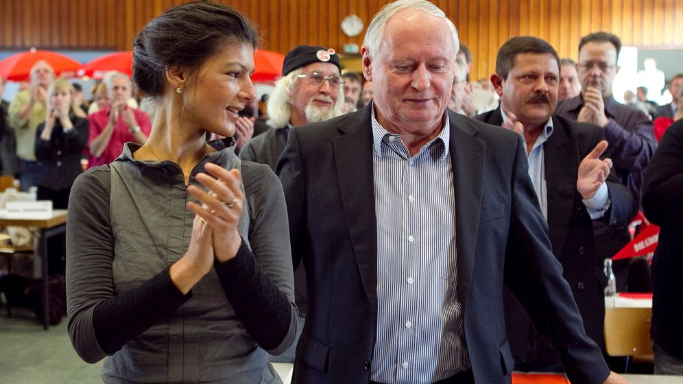Sahra Wagenknecht: Aufstieg einer Linksaußen-Politikerin