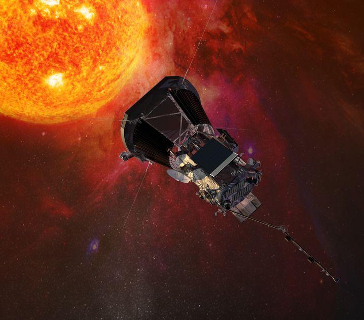 """Parker Solar Probe"" (Computergrafik)"