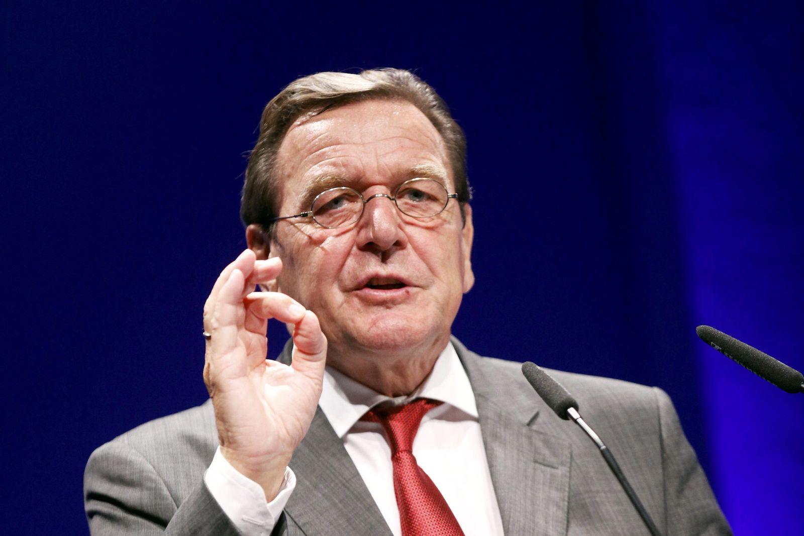 NICHT VERWENDEN Gerhard Schröder XXL