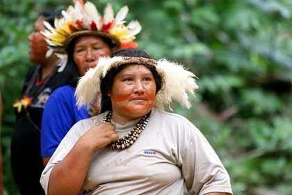 Bewohner eines Indianerreservats in Brasilien: Diabetes bedroht Urvölker
