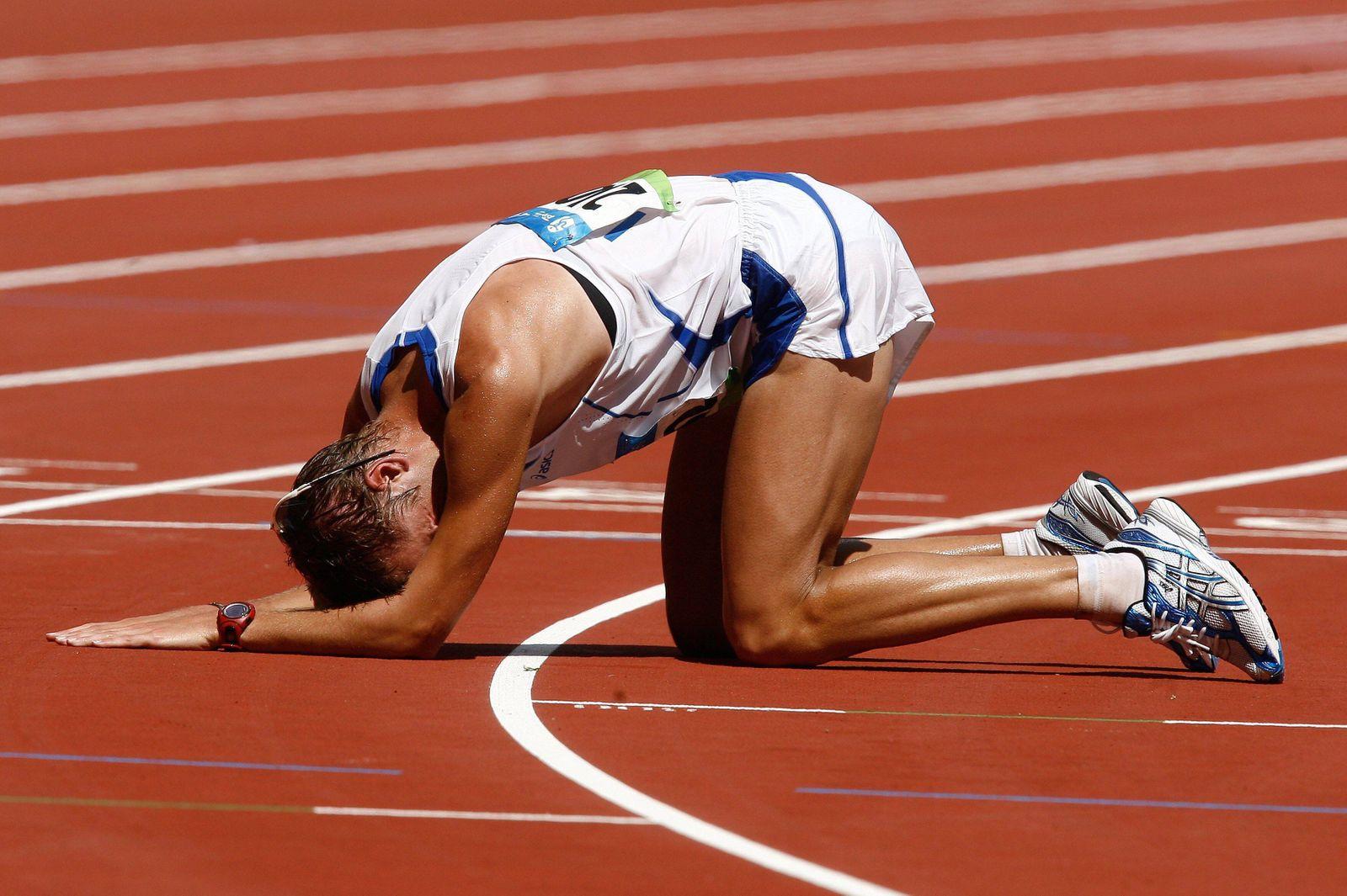 Alex Schwazer (Italien) - Olympiasieger 2008 über 50km Gehen - PUBLICATIONxNOTxINxFRAxITA (pan27567)