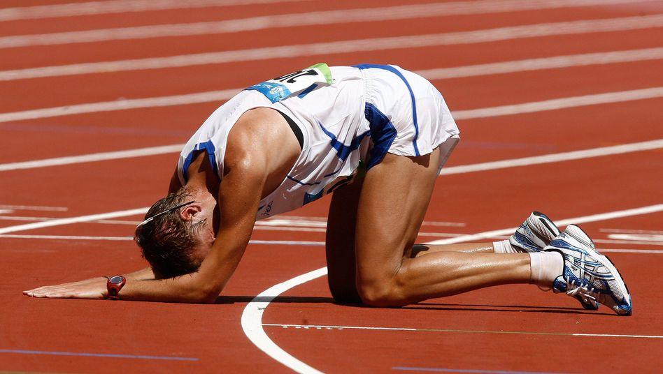Goldmedaillengewinner Schwazer in Peking 2008: Opfer eines Komplotts?