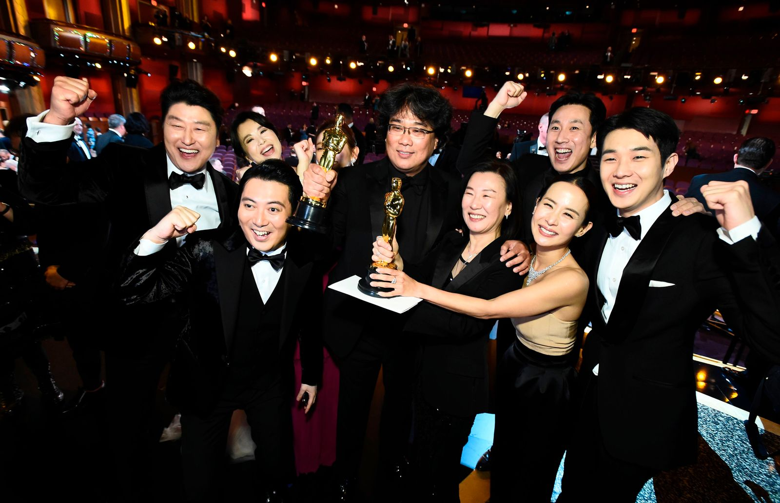 Oscars night, the biggest event in the movie industry's calendar