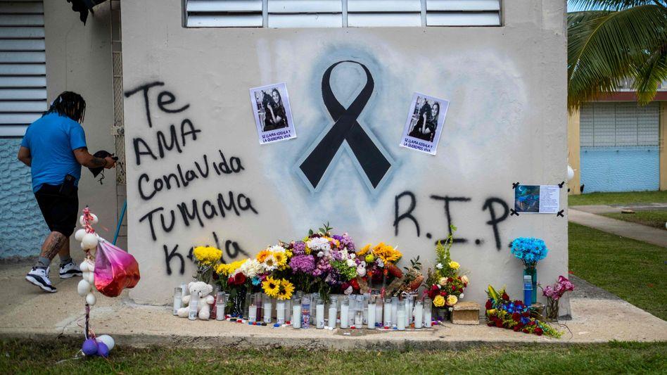 Erinnerungen an das Opfer: Dem Angeklagten droht die Todesstrafe