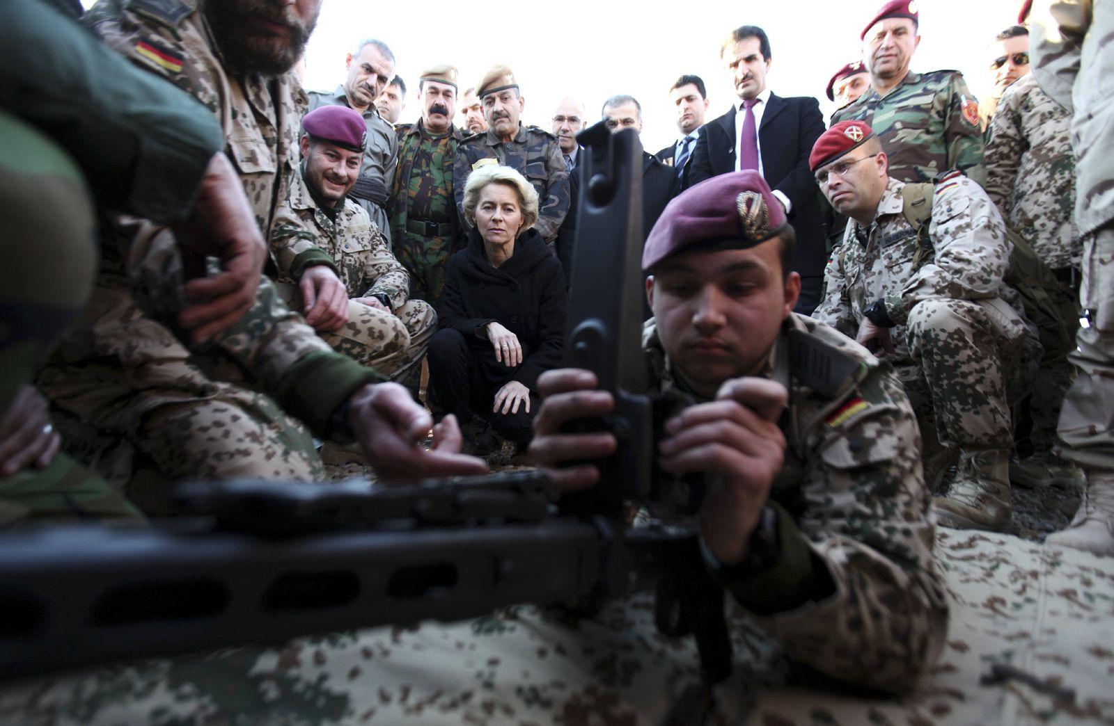 Bundeswehr/ Irak/ von der Leyen
