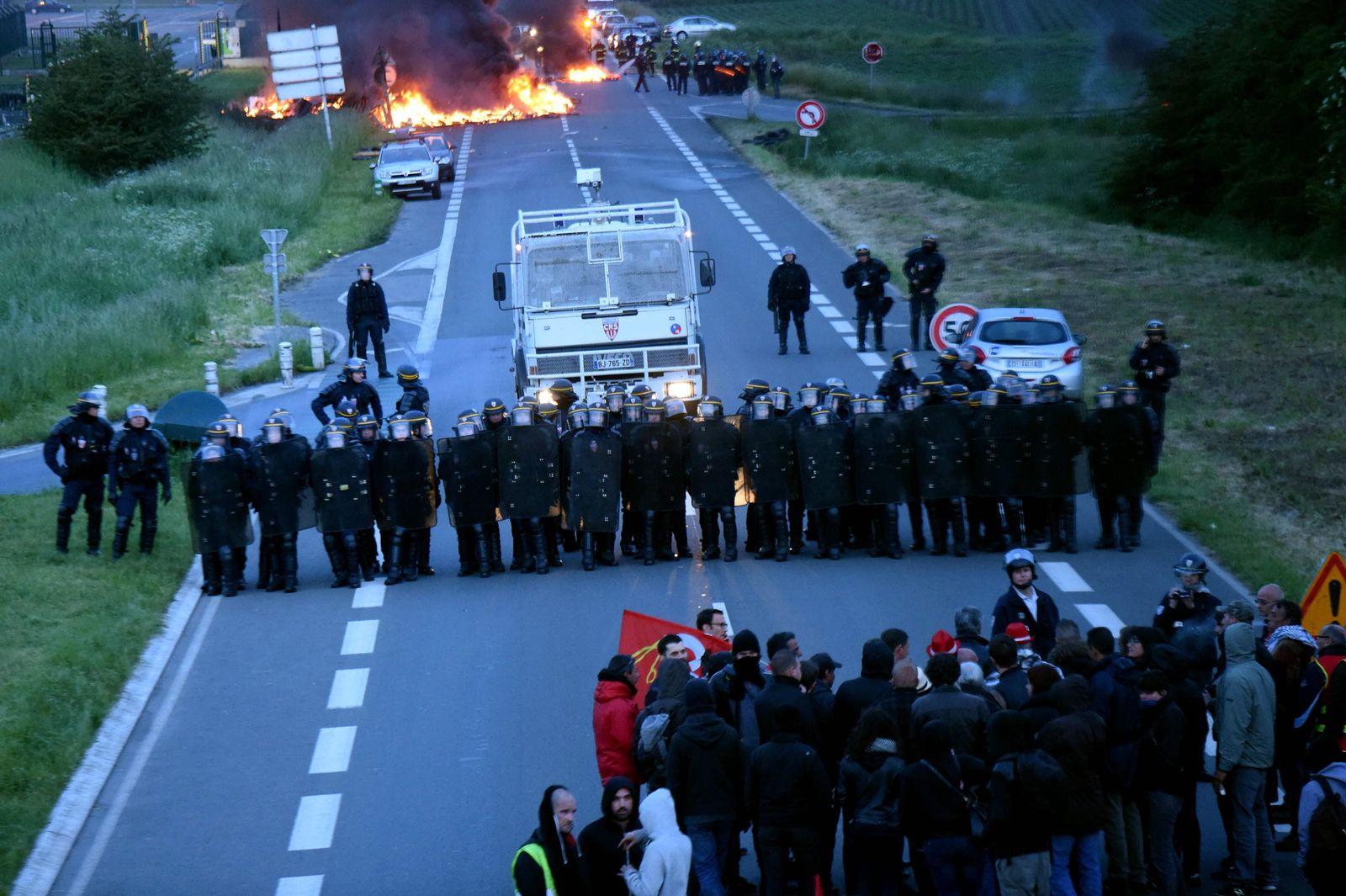 Frankreich / Arbeitsmarktreform / Protest