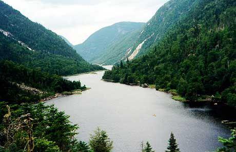 Unberührtes Hinterland: Die Hautes-Gorges de La Malbaie