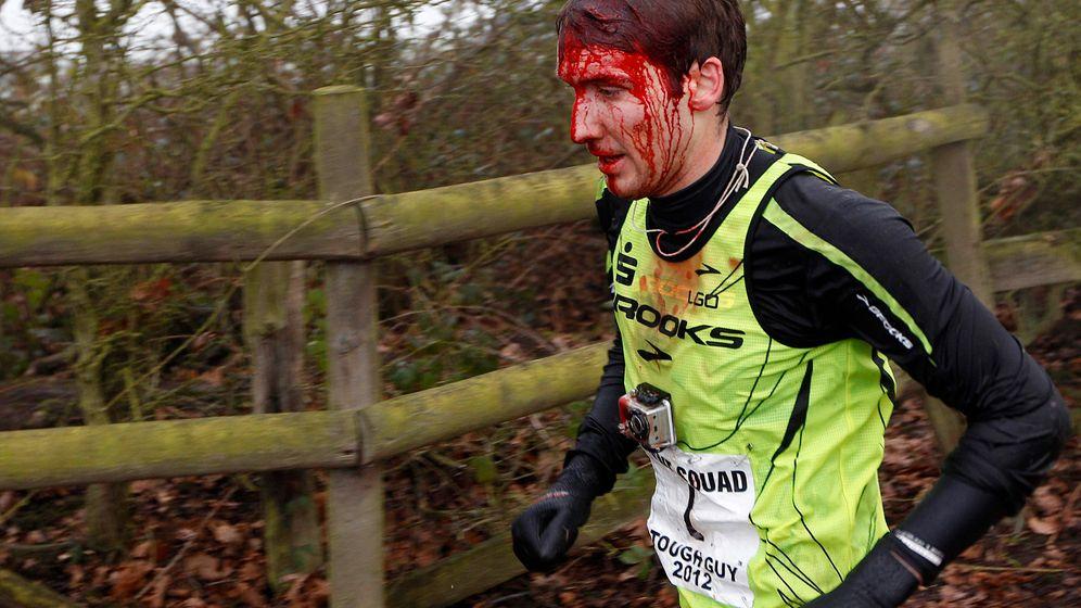 Tough Guy Challenge: Blut, Schlamm und Schmerzen