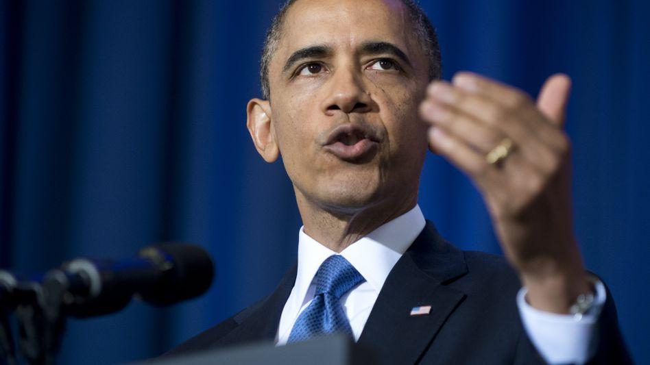 Obama bei seiner Rede: Souveränität von Staaten respektieren