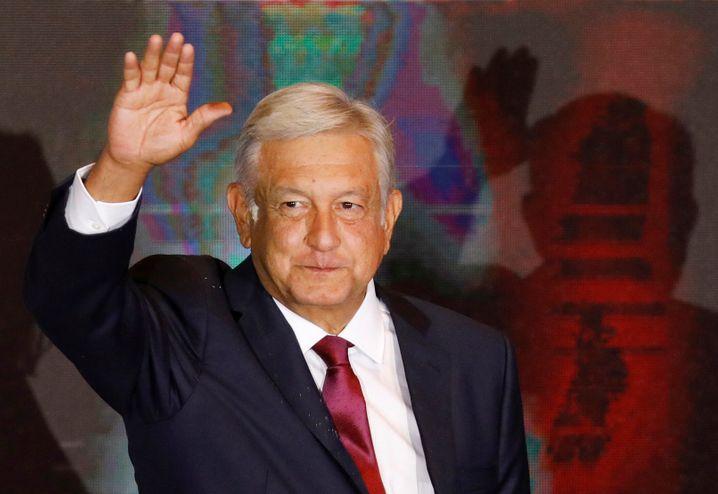 Präsident López Obrador: Kein zusätzliches Geld gegen die Corona-Krise