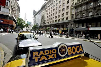 Rasanter Citytrip: Ins Taxi besser mit leerem Magen