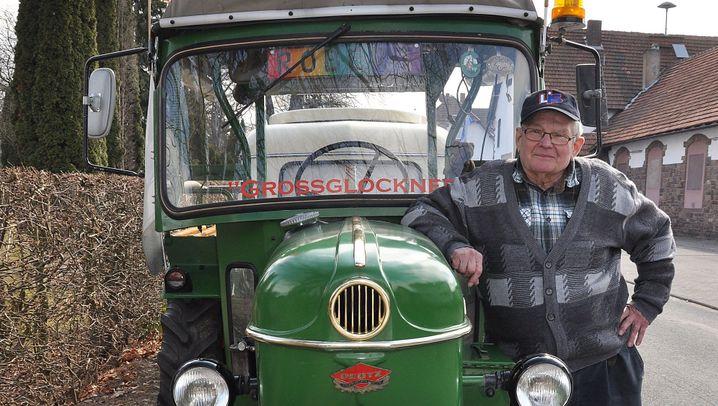 Reisen mit Traktor: Von Lauenförde bis zum Nordkap