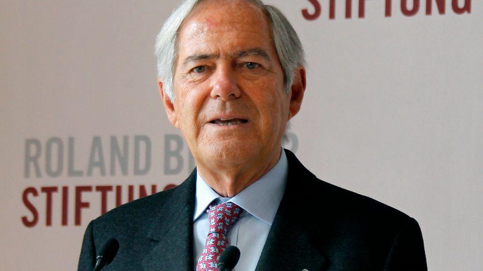 Unternehmens- und Politikberater Roland Berger (Archivbild)