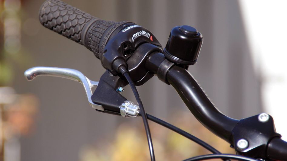 Handbremse am Fahrrad (Archiv): Vollkommen verkehrssicher