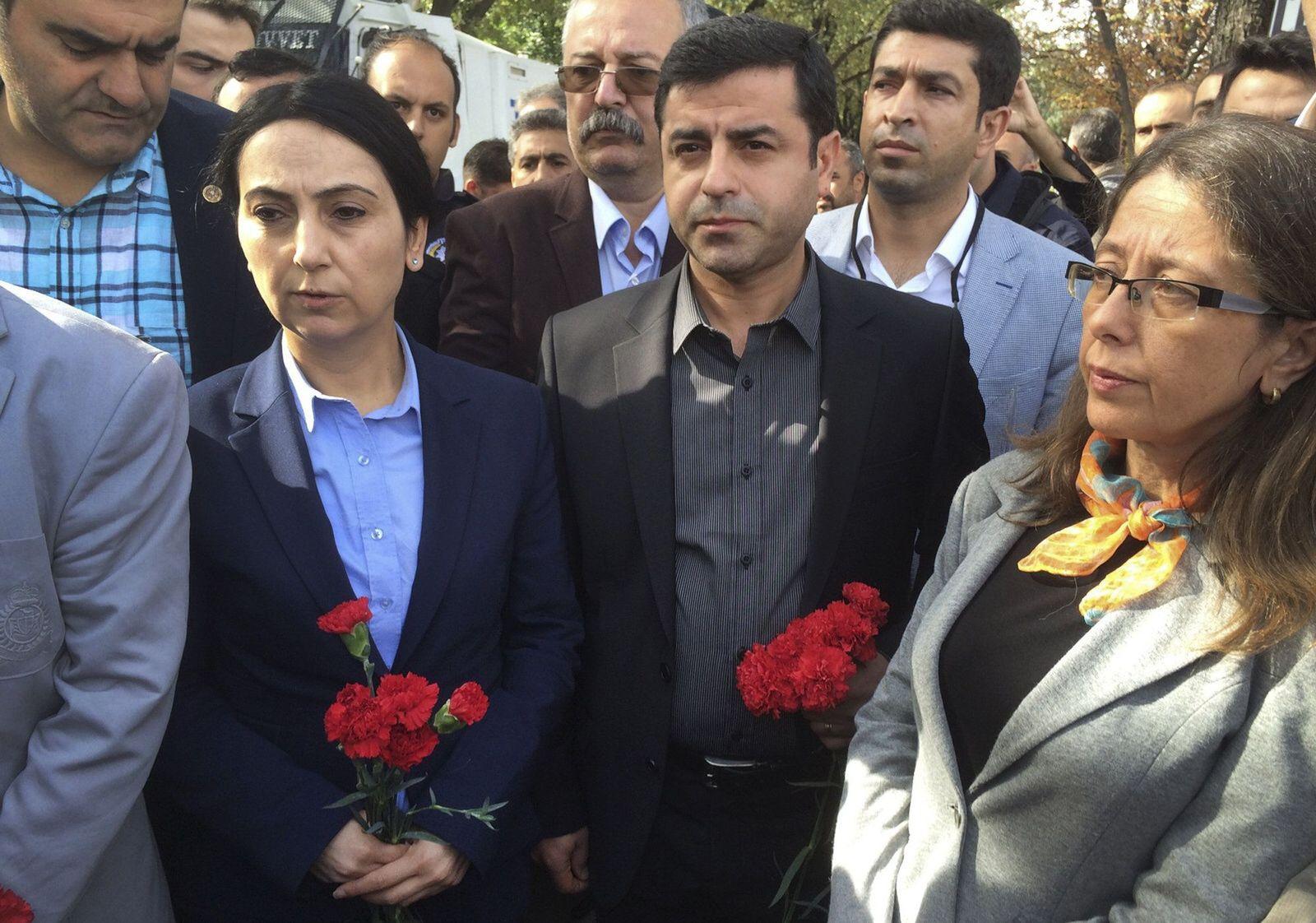Ankara/ Selahattin Demirtas/ Figen Yuksekdag