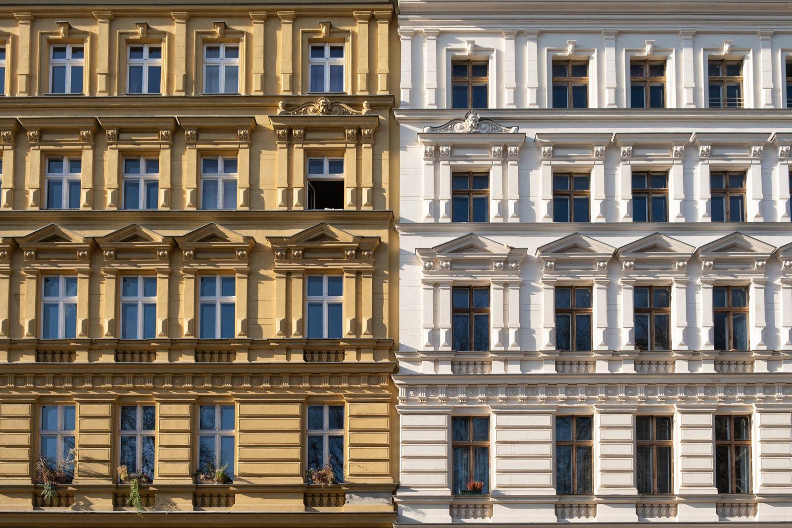 Wohnhäuser in Berlin-Prenzlauer Berg Wohnhäuser in Berlin *** Houses in Berlin Prenzlauer Berg Houses in Berlin