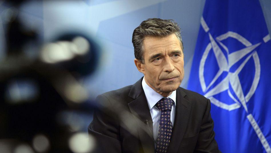 """Generalsekretär Rasmussen: """"Russische Intervention in der Ukraine wäre historischer Fehler"""""""