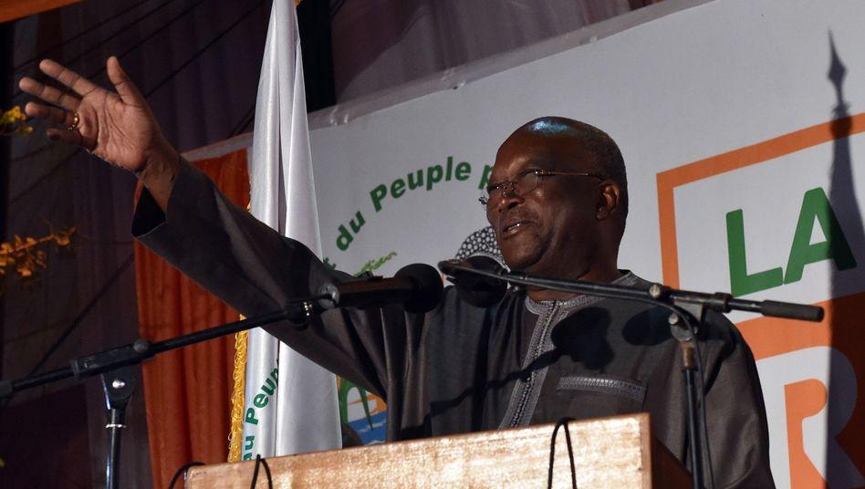 Wahlsieger Kaboré in Ouagadougou: Hoffnung auf langanhaltende Demokratie