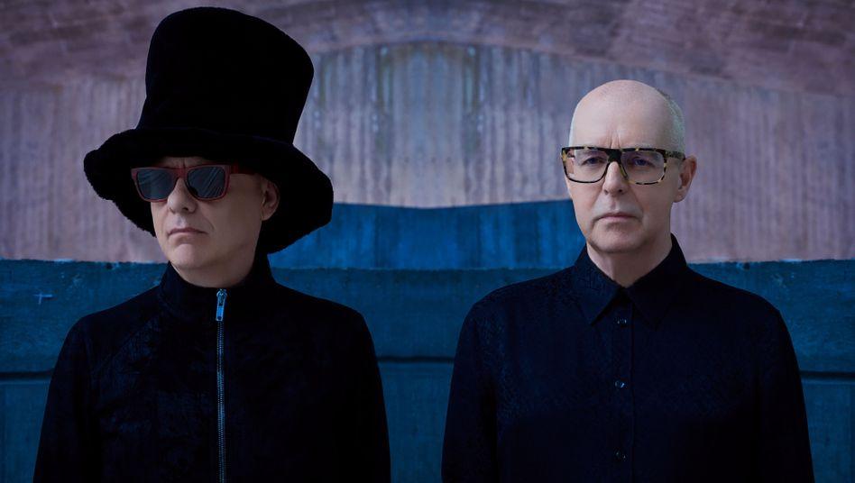 Pet Shop Boys: Chris Lowe und Neil Tennant nahmen ihr neues Album in den Berliner Hansa Studios auf - wie einst David Bowie.