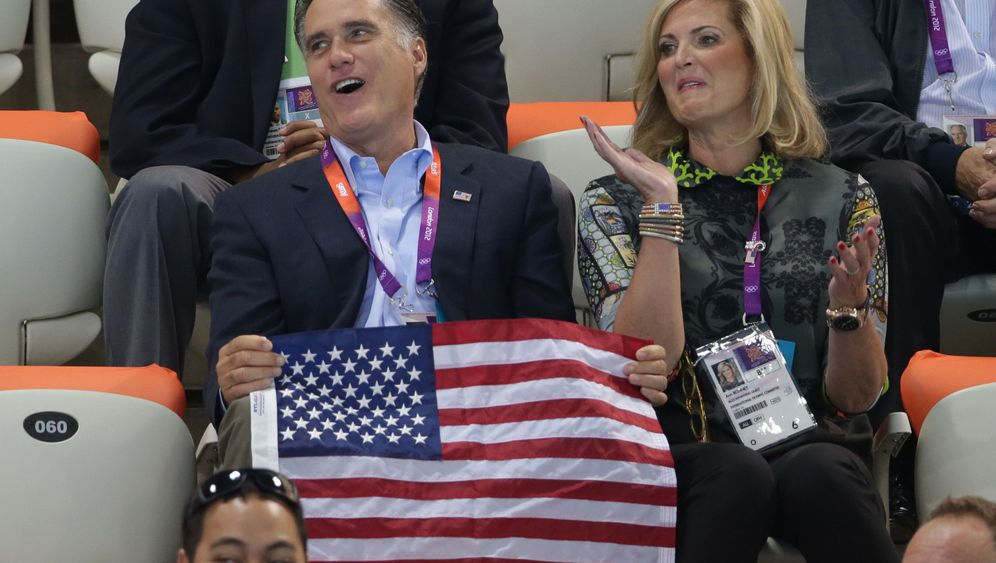 Photo Gallery: Romney's Trip Abroad
