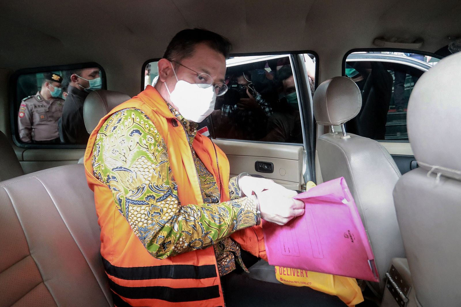 INDONESIA-CORRUPTION-HEALTH-VIRUS