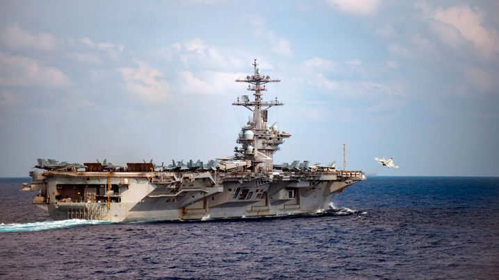 """Die """"USS Roosevelt"""": Das Virus greift um sich"""