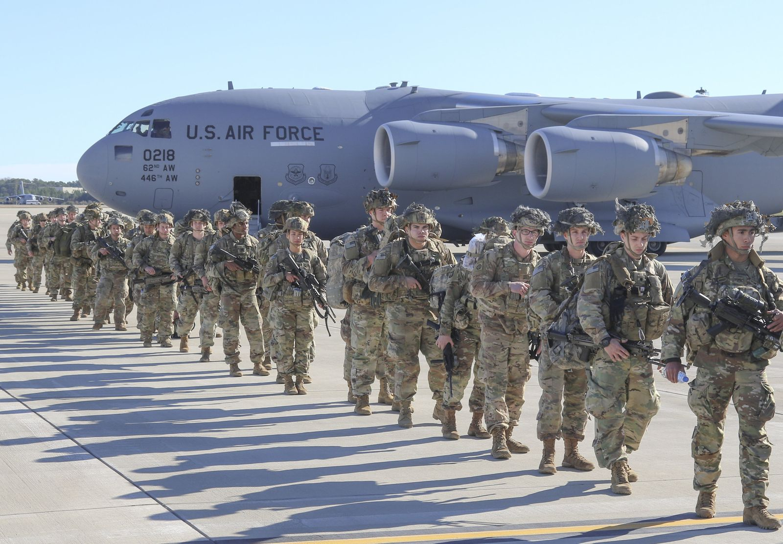 Konflikt Iran-USA - US-amerikanische Truppen