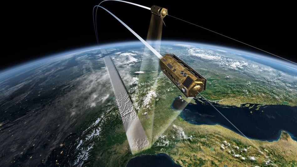 """Radarsatellit (Symbolbild): Generäle schwärmen von """"Tandem X"""""""