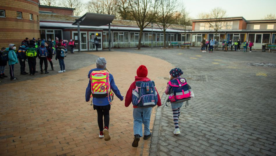 "Children on their way to school: ""It as right and necessary that children are immunized against COVID-19."""