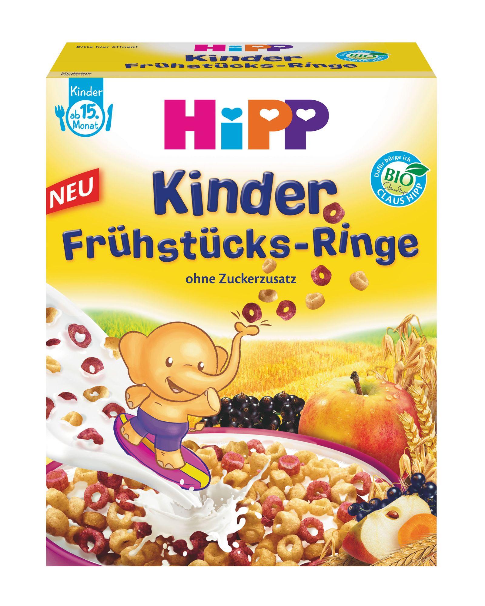 Hipp Kinder Frühstücksringe