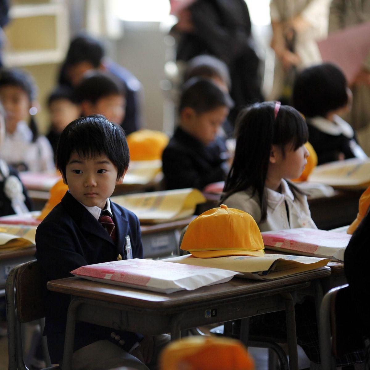 Japanische Schule Turnhalle Uniform