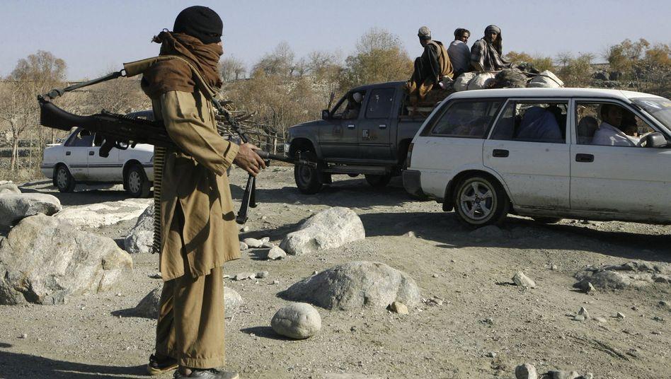 Ein Taliban-Kämpfer in der Provinz Nangarhar: Möglichst hohe Zahl von Opfern