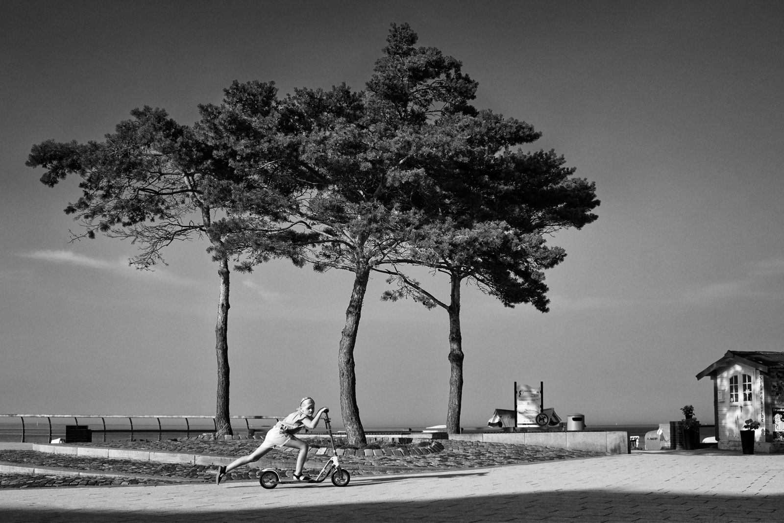 Strandpromenade in Niendorf