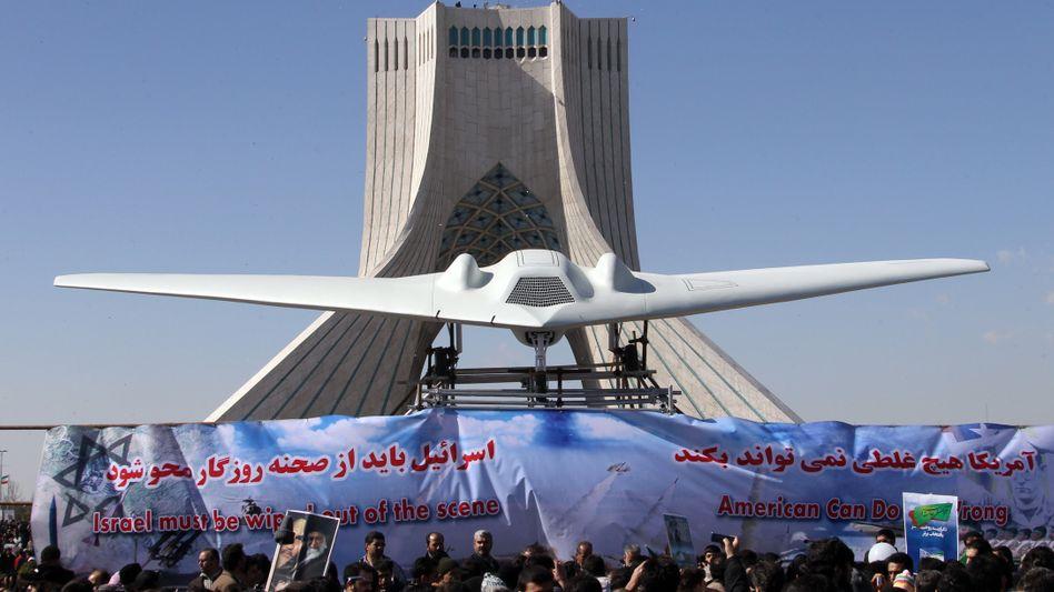 US-Drohne vom Typ RQ-170: Iranische Atomanlange hundertfach überflogen