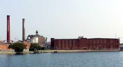 Fabrikgelände von Cannon Mill: China, Indien und Malaysia produzieren günstiger