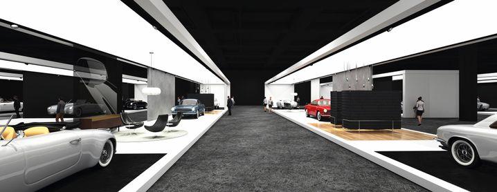 So sollen die Autos in Basel präsentiert werden