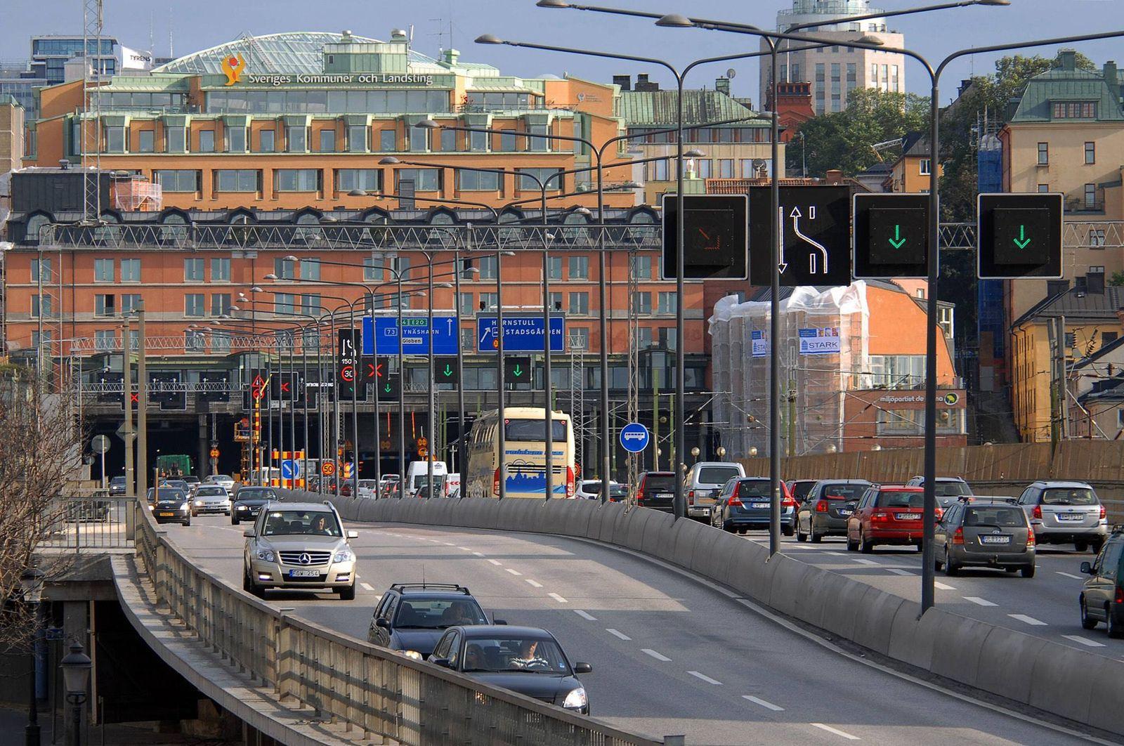 EINMALIGE VERWENDUNG Verkehr / Schweden / Symbol