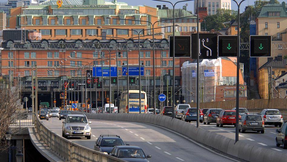 """Straße in Stockholm: """"Man wartet eben länger an der Ampel"""""""
