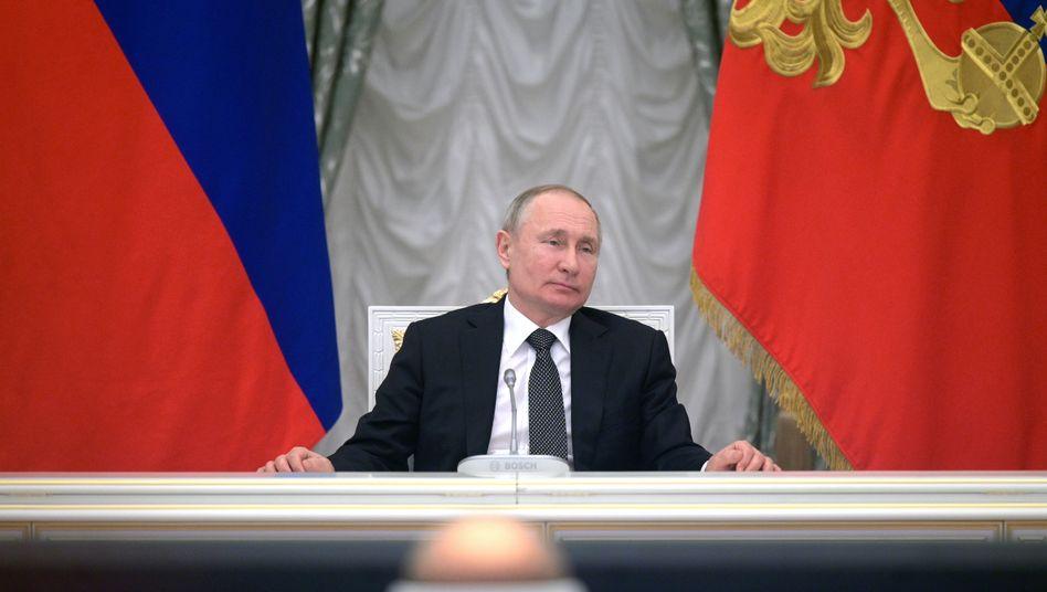 Wladimir Putin: Seit mehr als zwei Jahrzehnten an der Macht