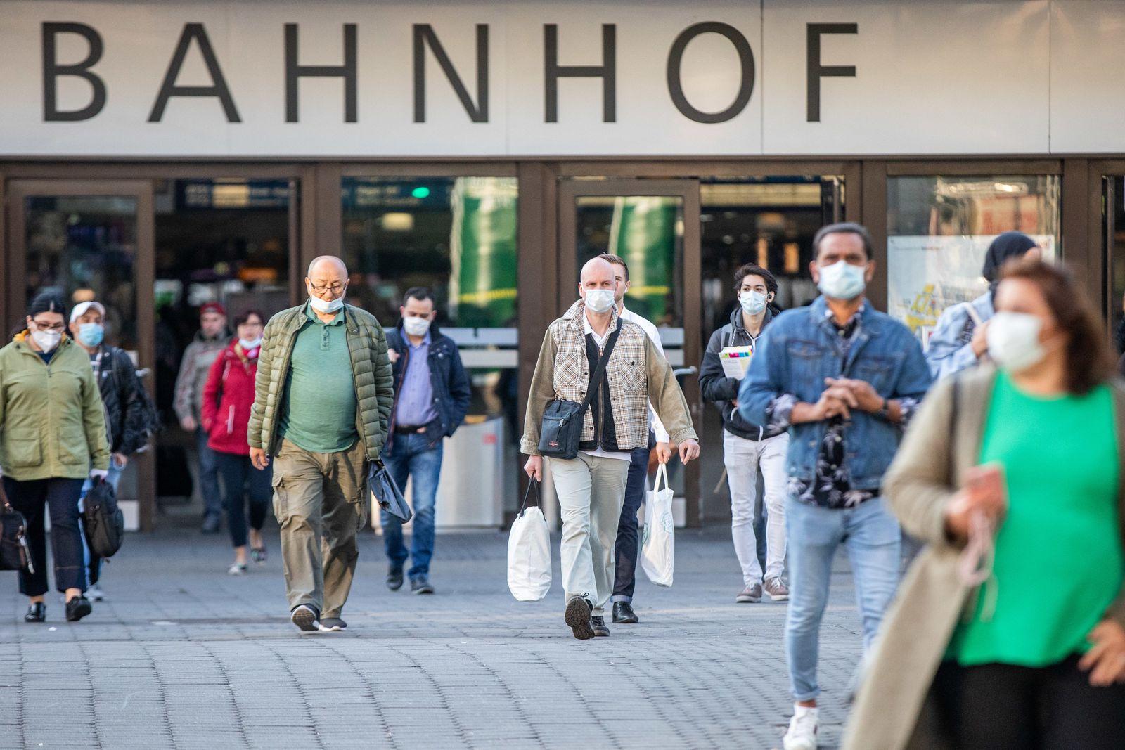Coronavirus - Maskenpflicht in NRW